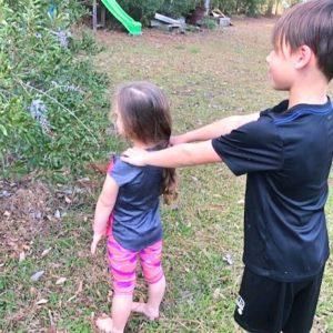 Human Camera Backyard Fun