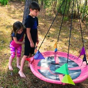 Sister with Brother for Outdoor Fun